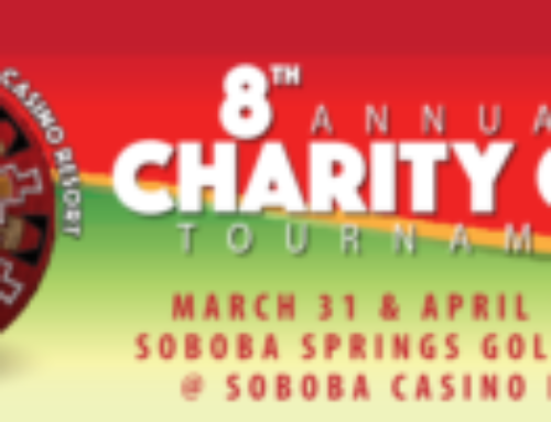 RSSD to Sponsor 8th Annual Soboba Charity Golf Tournament